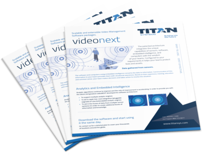 Scalable and extensible Video Management Software